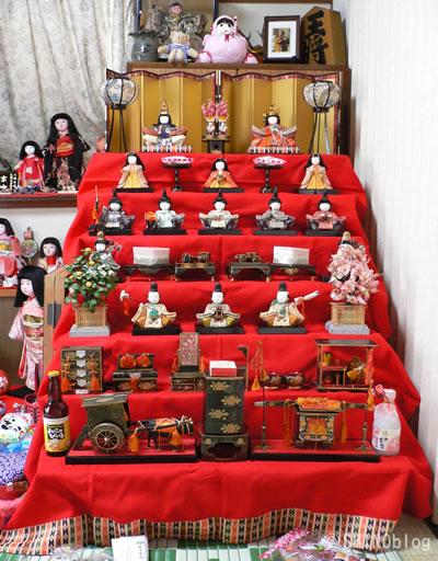 雛人形 並べ方