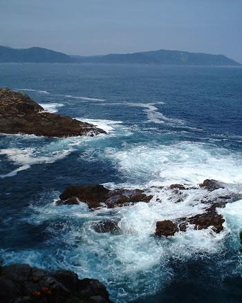 8f8c9e9a123eec 大船渡市の碁石海岸から見える、典型的なリアス式海岸美しく入り組んだ海岸線は、逆に津波の威力を増大させることになります。