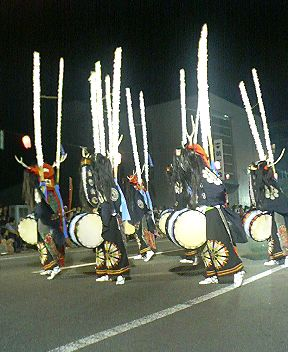 北上市の鹿踊り